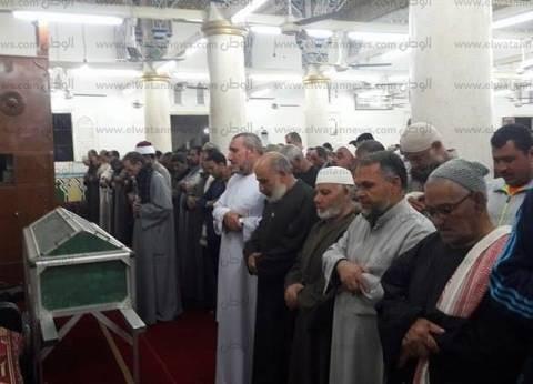 بالصور| تشييع جنازة والد زوجة محمد صلاح بمسقط رأسه في الغربية