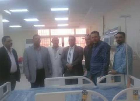 """""""صحة دمياط"""" يتفقد مستشفى السرو تمهيدا لافتتاحها بالعيد القومي للمحافظة"""