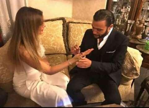 بالصور| ثنائيات الحب في حفل زفاف محمد إمام