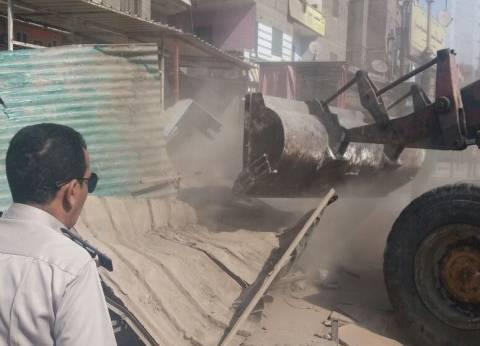حبس صاحب معرض سيارات لاعتراضه على حملة إزالة تعديات بشبرا الخيمة