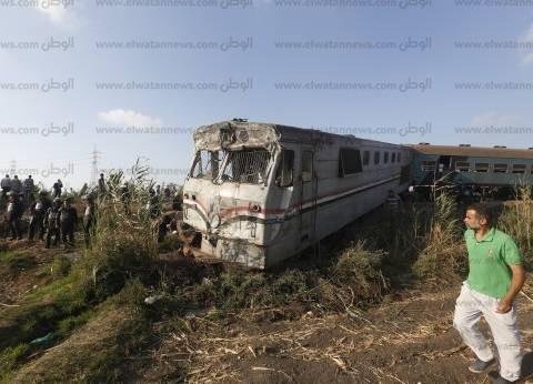 """""""إسعاف كفر الشيخ"""" يدفع بـ10سيارات لنقل مصابي حادث قطاري الإسكندرية"""
