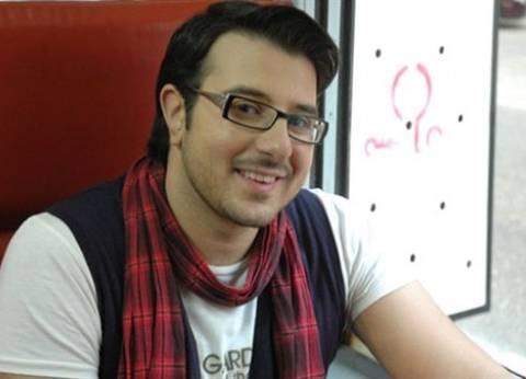 كريم أبو زيد ينجو من حادث سيارة