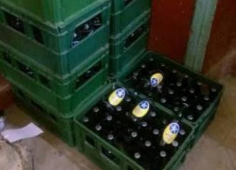 """ضبط عاطل بحوزته 32 زجاجة """"بيرة"""" في البحيرة"""