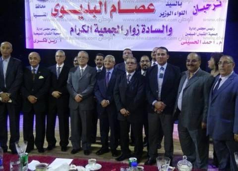 """رئيس جامعة المنيا يشهد اللقاء السنوي لـ""""الشبان المسلمين والمسيحيين"""""""