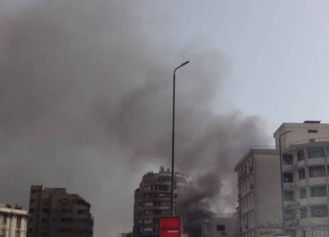 """حاتم قابيل لـ""""الوطن"""": لا نعرف مصدر حريق نقابة التجاريين"""