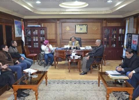 بالصور| محافظ كفر الشيخ يستعرض مشروع إقامة قرية أوليمبية رياضة مع نواب البرلمان
