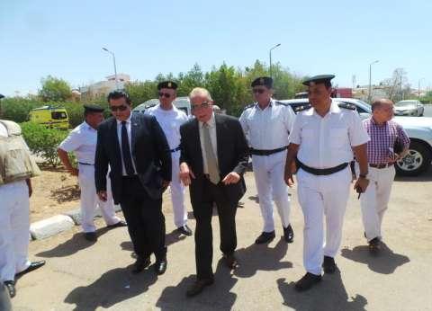 محافظ جنوب سيناء يتفقد إجراءات تأمين امتحانات الثانوية العامة