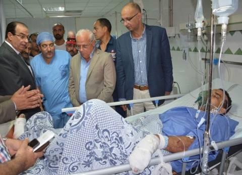 محافظ الدقهلية: حادث بورسعيد المؤلم هز مشاعر المصريين