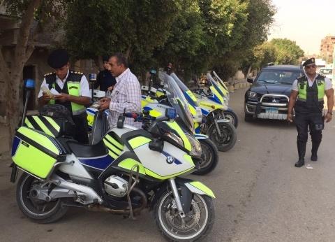 """""""أمن الجيزة"""": ضبط 42 ألف مخالفة مرورية خلال حملة في شهر"""