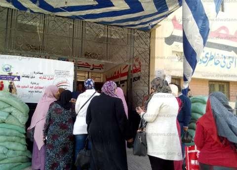 توافد الناخبين على لجان انتخابات المعادي ودار السلام