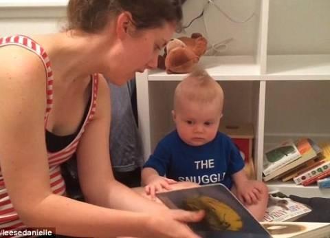 بالفيديو| أصغر طفل مثقف في العالم.. يبكي إذا توقفت القراءة