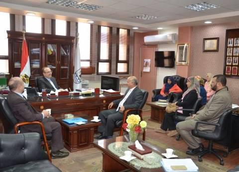 محافظ بني سويف: تحسين الخدمة الصحية أولوية ومسؤولية مجتمعية