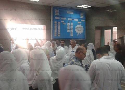 إضراب أطباء «كفر الدوار» احتجاجاً على «الحضور والانصراف»