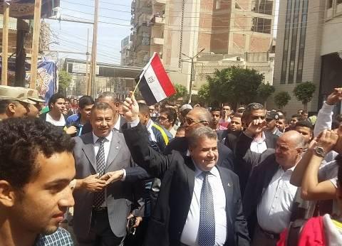 جامعة بنها تشكر الشباب المصري على دوره في الانتخابات الرئاسية