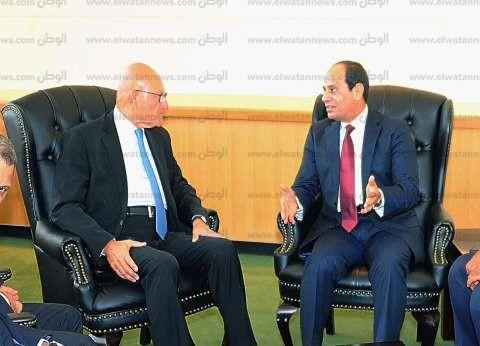 السيسي يلتقي رئيس الوزراء اللبناني في نيويورك