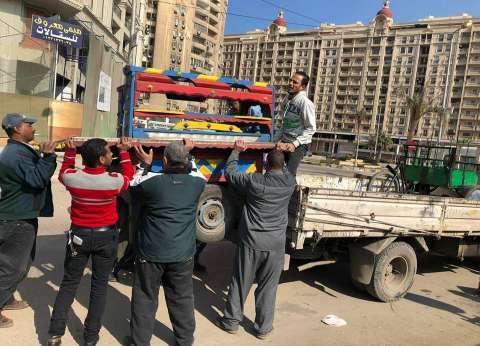 """حي شرق الإسكندرية يشن حملة لإزالة الإشغالات بمنطقة """"سموحة"""""""