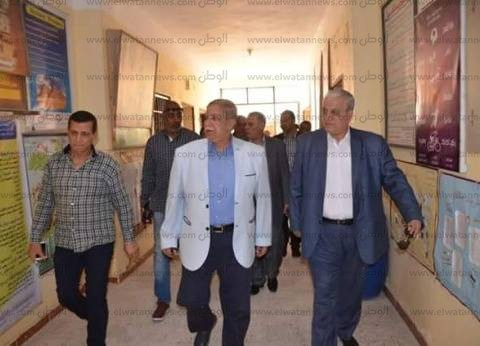 لليوم الثالث.. محافظ الإسماعيلية يتفقد مقار لجان الانتخابات الرئاسية
