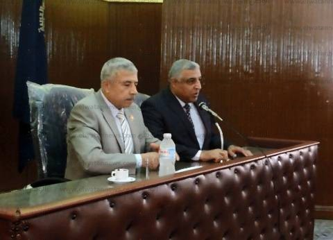 مساعد وزير الداخلية بوسط الدلتا يشارك في دورة تدريب العاملين بأمن الغربية