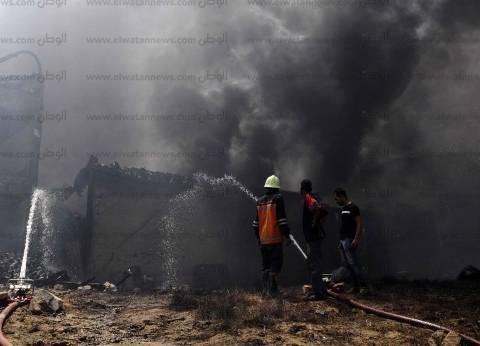 السيطرة على حريق داخل مخزن ببرج العرب غرب الإسكندرية دون إصابات