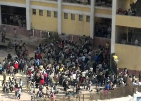سوهاج: 4 إدارات تستنجد والمحافظ يحظر نقل الطلاب إلى مدارس «الغش الجماعى»
