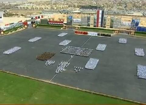 عاجل| خريجو كلية الشرطة يقدمون عرضا عسكريا أمام السيسي
