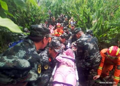 بالصور  ارتفاع عدد ضحايا زلزال جنوب الصين إلى 12 قتيلا و125 مصابا