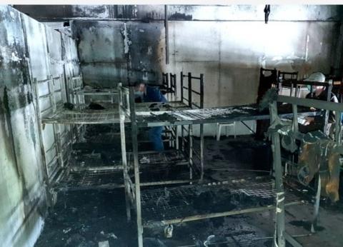 """""""البوسنة"""": 29 مهاجرا أصيبوا في حريق مخيم للمهاجرين شمال شرق البلاد"""