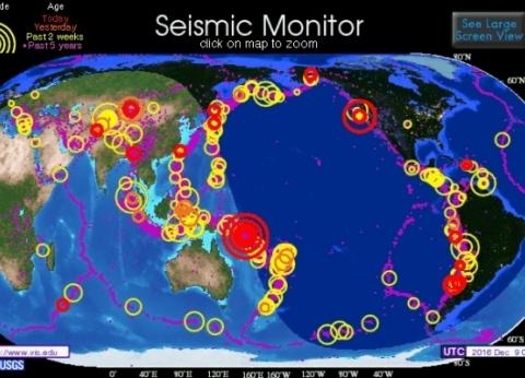 """بالخرائط  في نطاقه 452 بركانا.. كل شيء عن الحزام الناري مشعل """"تسونامي"""""""