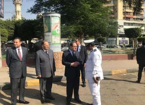 بالصور| وزير الداخلية يتفقد الخدمات الأمنية بالقاهرة والجيزة