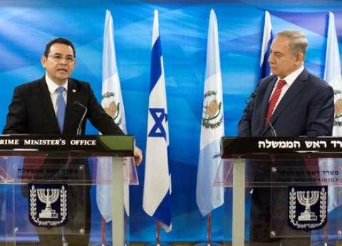 مسؤول جواتيمالي يناقش في إسرائيل نقل سفارة بلاده