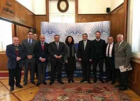 """""""رجال أعمال الإسكندرية"""" تبحث تعزيز التعاون المشترك مع السفير الهندي"""