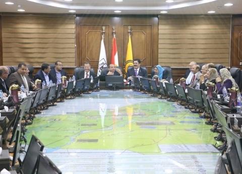 رئيس جامعة بني سويف يترأس اجتماع لجنة تعيينات أعضاء هيئة التدريس