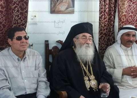 رهبان دير سانت كاترين يدينون تفجير الكنيسة البطرسية الإرهابي