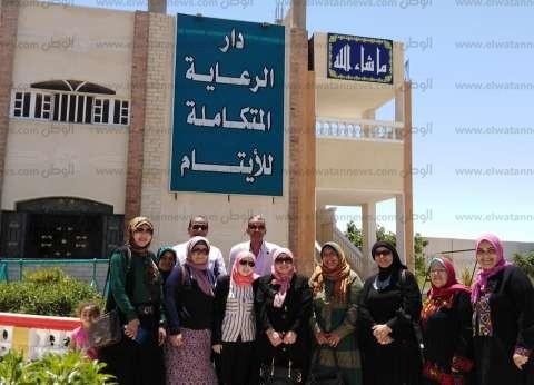 """""""مرتجى"""" تزور دار الأيتام في العريش ضمن حملة """"جبر الخواطر"""""""