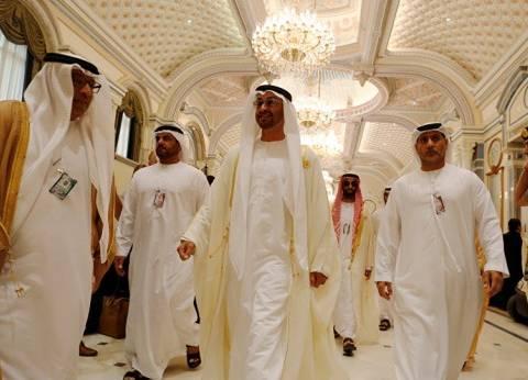 """""""بن زايد"""" و""""بن سلمان"""" يجتمعان مع قادة حزب """"التجمع اليمني للإصلاح"""""""