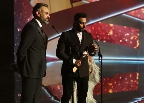 """تامر حسني أفضل نجم في الغناء العربي بـ""""الموريكس دور"""""""