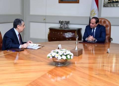 """""""السيسي"""" يستعرض خطة وزارة الكهرباء لـ""""الصيف المقبل"""" مع """"المرقبي"""""""