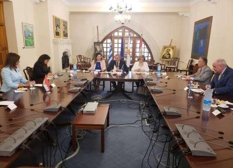 """بالصور  وزيرة الهجرة تشارك في الاجتماع التحضيري لمبادرة """"إحياء الجذور 2"""" بقبرص"""