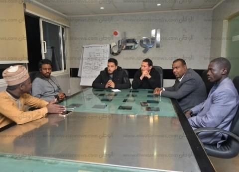 شباب الأفارقة: نثق فى قيادة مصر للقارة نحو الخير والنماء والاستقلال الوطنى
