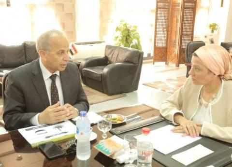 وزيرة البيئة تلتقي محافظ القليوبية لبحث تطوير منظومة النظافة بالمحافظة