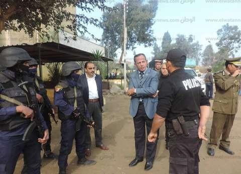 بالصور| مدير أمن الغربية يتفقد مركز تدريب الشرطة بطنطا