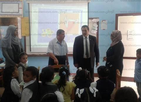 وكيل «تعليم جنوب سيناء» يشدد على غلق أبواب المدارس أثناء اليوم الدراسي