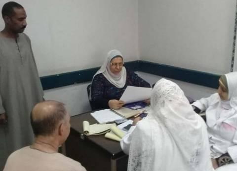 محافظة الجيزة تطلق قافلة طبية للمناطق الشعبية في أطفيح