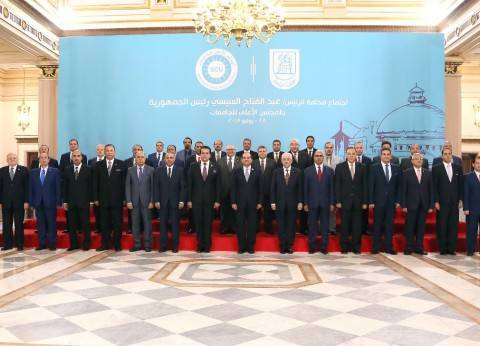 """""""الرئاسة"""": السيسي يجتمع بـ""""الأعلى للجامعات"""".. ويؤكد أهمية بناء الشباب"""