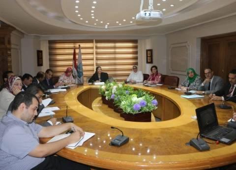 وزيرة البيئةتشكل مجموعة عمل لمواجهة تلوث النيل