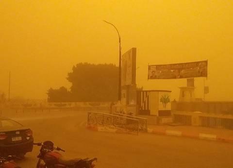 """""""الأرصاد"""": العاصفة الترابية سببها منخفض السودان ومستمرة 48 ساعة"""
