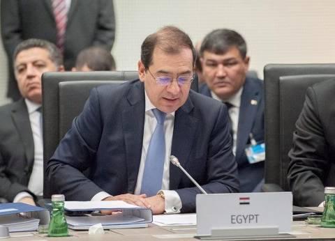 وزير البترول: وقف استيراد الغاز الطبيعي نهاية يونيو المقبل