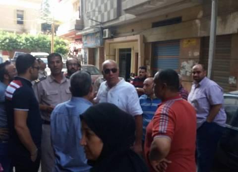 رئيس مدينة المحلة يتفقد موقع ميل عمارة سكنية بسبب أعمال حفر