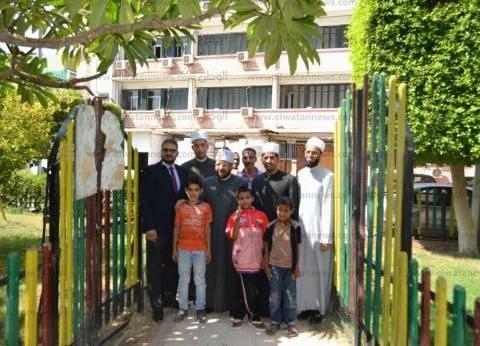"""وفد من علماء الأزهر الشريف يزور معهد """"جنوب مصر للأورام"""""""