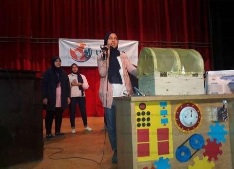 """بدء فعاليات المعرض الأول للموهوبين والمبتكرين بـ""""تعليم كفر الشيخ"""""""